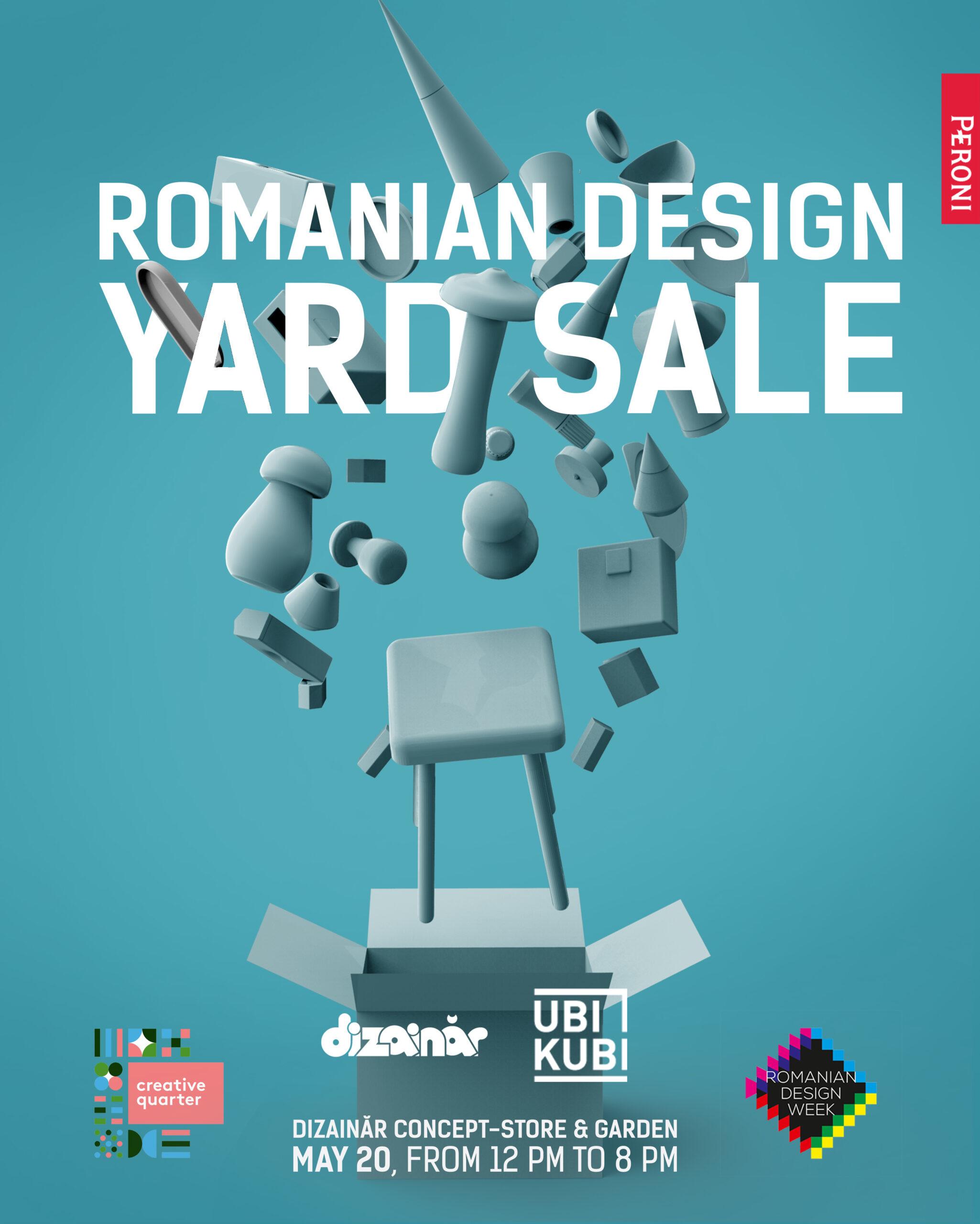 Romanian Design Yard Sale – 2018